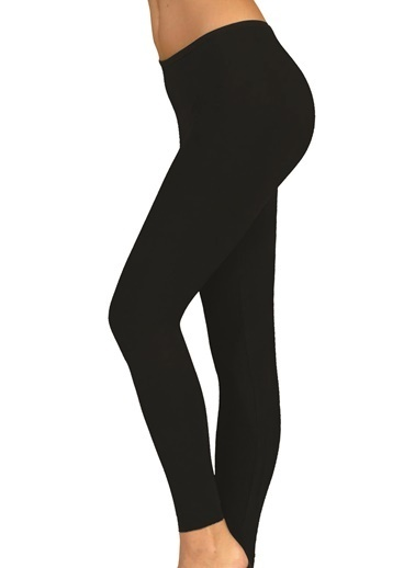 Elit Kadın Uzun Tayt Siyah
